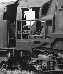 Barry South Wales 1975 (loose_grip_99) Tags: uk railroad abandoned southwales wales blackwhite pacific noiretblanc rail railway trains steam barry 1975 disused locomotive scrapyard bluestar railways southernrailway merchantnavy britishrailways 462 bulleid uksteam 35010 gassteam