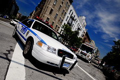 It's the Po leeese (ian han) Tags: newyork america police emergencyvehicles newyorkamerica