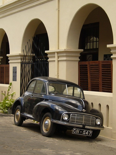 Picture of Morris Minor in Sri Lanka