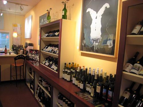 Wine at the Wine Emporium