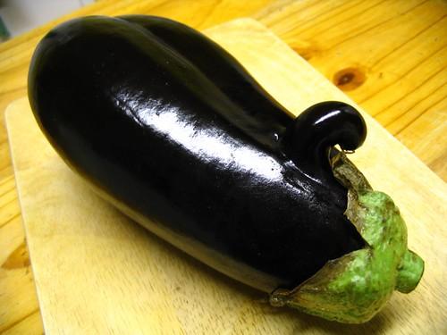 Mutant aubergine?