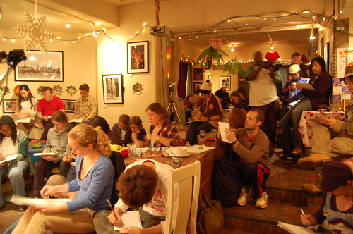 Dr Sketchy in Nov