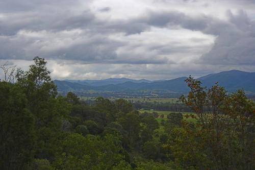 View from Neurum Creek Bush Retreat