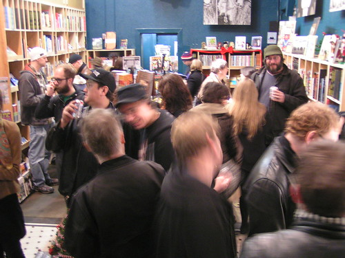 Fantagraphics Bookstore & Gallery 1st Anniversary Party, 12/08/07
