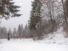 Slovakian hill under snow (Pinkannie) Tags: slovakia