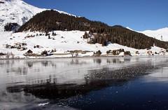 Davos - Switzerland (tigri) Tags: winter panorama lake snow reflection nature landscape switzerland see davos davoser  explore473