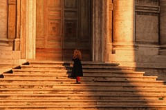 Ask, my little girl (Biaph) Tags: light shadow rome roma church stairs steps littlegirl portfolio ask thesmiths of biaph altraroma ofstreet barbaraabate iosonoantifascista biaph barbaraabate