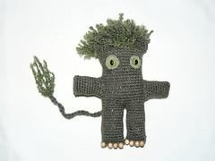 Forest troll amigurumi