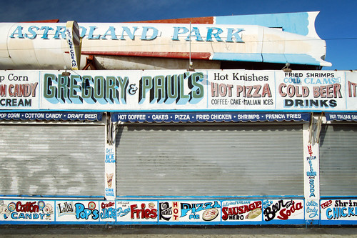 Image of Astroland Sign
