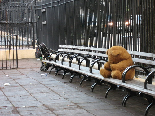 sad bear / charclam