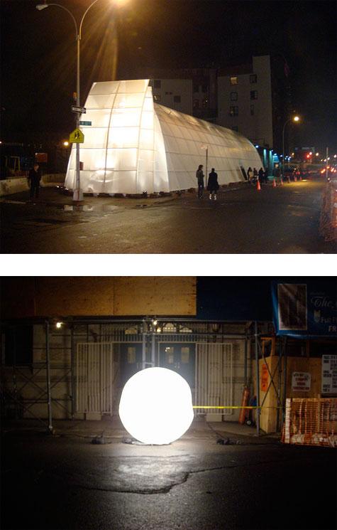 Yohji Yamamoto new flagship store new york Roman Coppola photo bubble