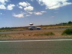 Port Wakefield Road - spaceship