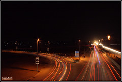 Lighting Trails -- Faizabad