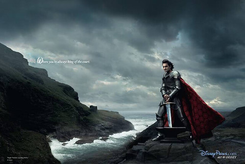 Annie Leibovitz's Disney Dream Portrait Series - King Arthur