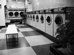 london (giovanni ottini) Tags: uk england bw house london machine laundry lane turnpike laundromat manor londra washing giovanni inghilterra lavatrici laundromatic ottini