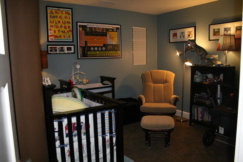 Contemporary Style Baby Boy Nursey Ideas. Tags: nursery baby room