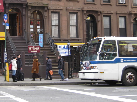 Bus in Park Slope