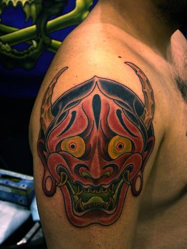 Teathen Tattoo on Big Arm
