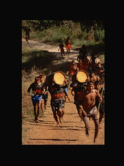 Corrida de tora Xavante (Rito de Passagem) Tags: brazil ritual matogrosso indio aldeia povo xavante cls corridadetora