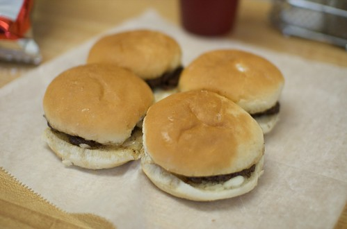 4 Crabill's Greasy Burgers