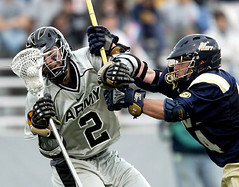 Army - Navy LAX.  April 2008