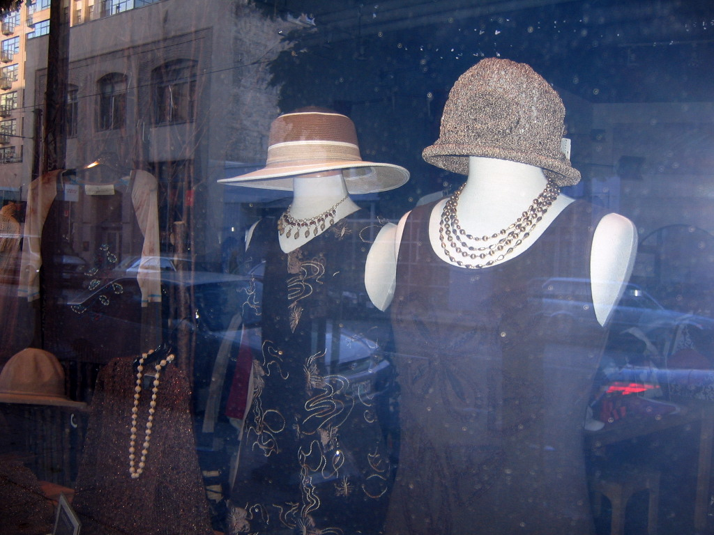 Headless Hat-Wearing Women