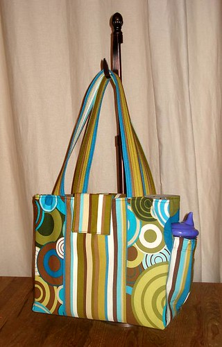 Baby Gifts: Pretty Bird Quick Trip Diaper Bag | Sew4Home