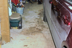 Cleaned-up garage