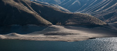 Watermarks (maytag97) Tags: maytag97 idaho reservoir lake shore contrast shadow lucky peak outdoor nikon d750