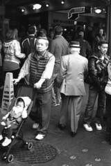 Man in Suit (jackiewilde) Tags: nikon nikonf3 agfa retro80s seattle washington america usa streetphotography pikemarket pacificnorthwest blackandwhite