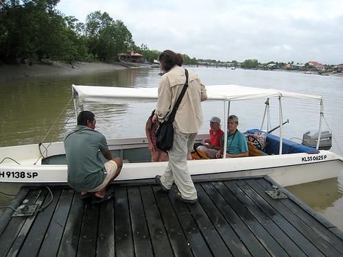 Boat to Bako