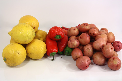 lemons peppers potatoes