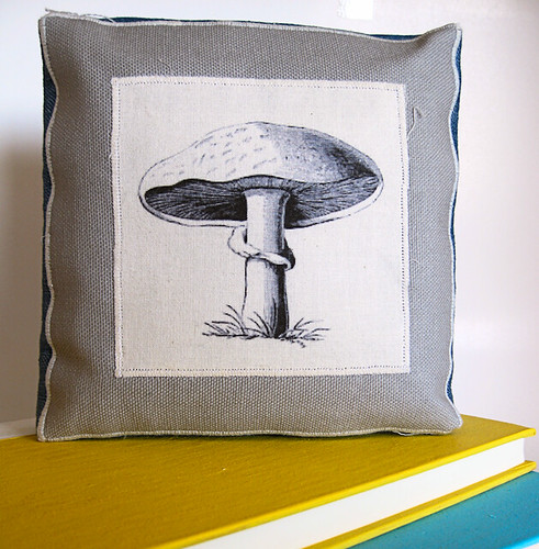 Mushroom Custom Printed Modern Country Home Decor