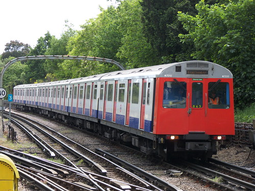 D78 Stock at Ealing Common Station