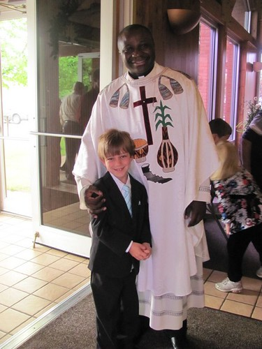 Chase's First Holy Communion