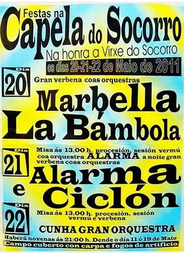 Vilalba 2011 - Festas en Rioaveso - cartel