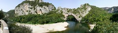 Ardeche Panorama 3 (normandie2005) Tags: panorama france water french geotagged aqua eau wasser europa europe kayak pano riviere arc eu panoramic bateaux canoe panoramica panoramicas pont provence kanu geotag ardeche panormicas panoramique panoramics panorame panormicas panoramiques panoraama francophile rojan francophiles normandie2005 discoverfrance panormiques miesau panoramisch panoramin regionsoffrance  francophil panoramatick panoramisk     panormas panoramiczny  panoramski  dcouvrirlafrance entdeckefrankreich