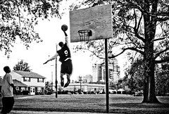 hops haiku (CharlesMedia) Tags: people bw basketball interestingness jump haiku explore dunk professionalportfolio thegatecitybook