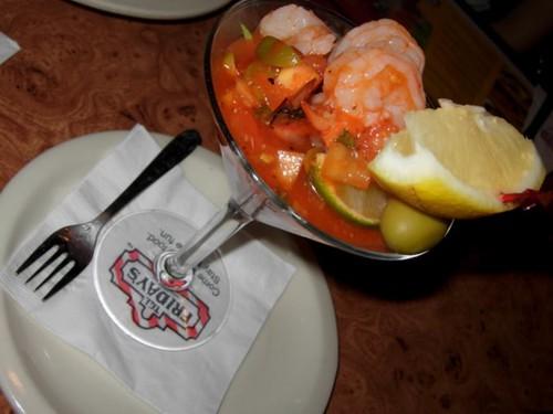 Martini prawns, TGIF