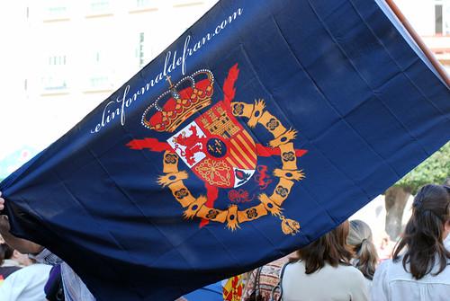 Bandera de la Casa Real