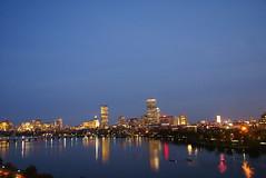 View of Boston, Nighttime (dbaron) Tags: cambridge usa reflection water boston night river geotagged lights boat view massachusetts charlesriver crew hyatt w3c practice techplen w3ctp hyattregencycambridge w3ctpac geo:lat=4235394 geo:lon=7110520