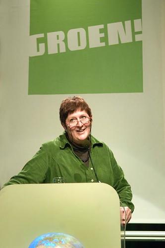 Mieke Vogels uit Deurne nationaal Groen!-voorzitster