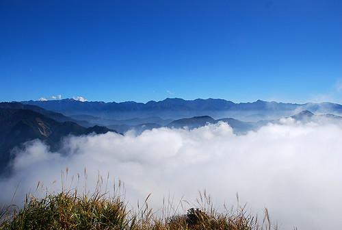 遠眺聖稜線