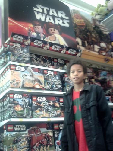 Hugo en el Toys'R'Us: STARWARS