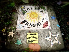 Angie's Hydrant Henge (missjenn) Tags: seattle city columbia columbiacity