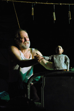 Robert Zuckerman in The Puppetmaster of Lodz 2