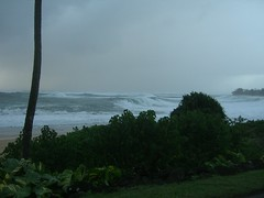 Haena Waves (Joe Mojo) Tags: storm kauai kee