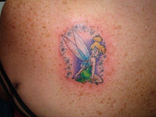 tinkerbell tattoo by Brian
