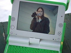 OLPC with camera function on (karindalziel) Tags: favorites olpc xosp