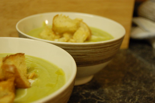 Brussel sprout soup